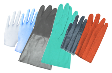 Latex/Rubber/Nitrile Gloves