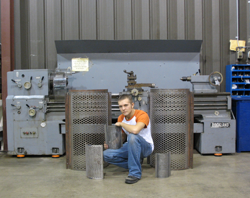 Check out our Granulator Screens